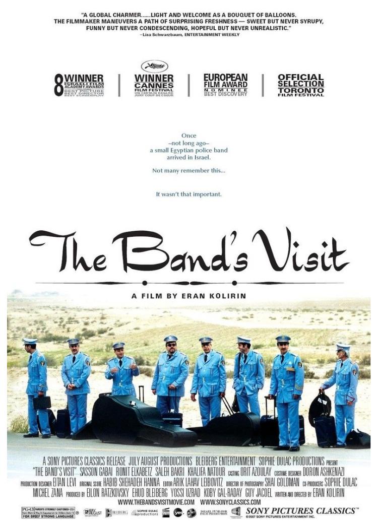 The Band's Visit (2008) Main Poster
