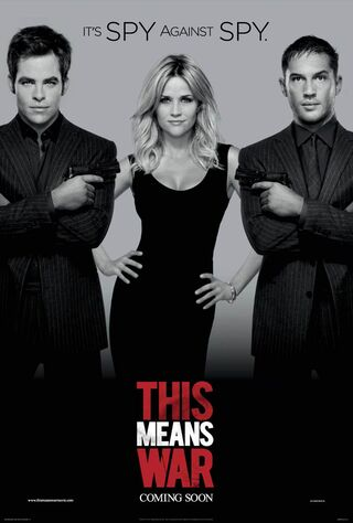 This Means War (2012) Main Poster