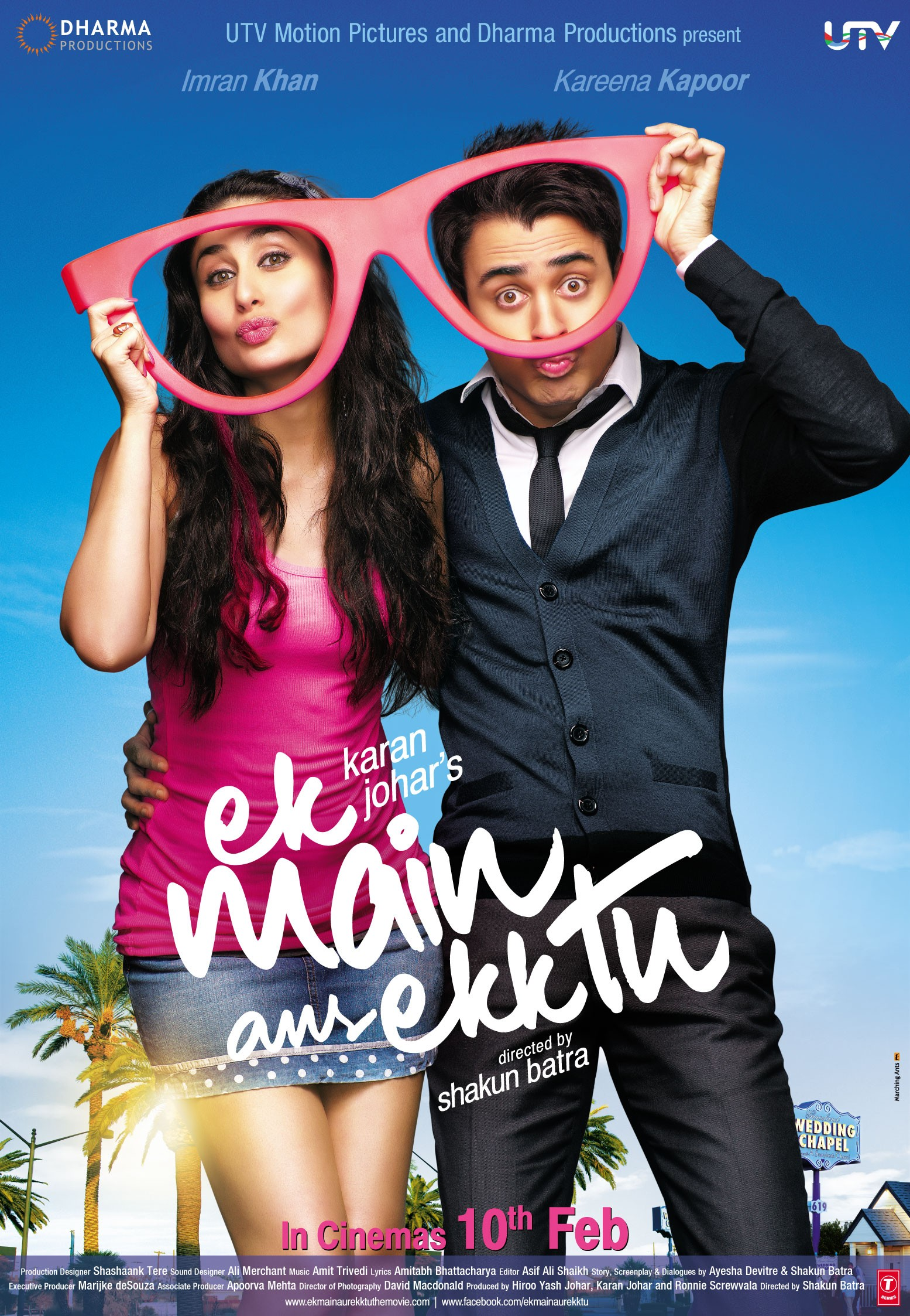 Ek Main Aur Ekk Tu (2012) Main Poster