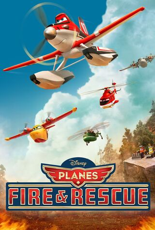 Planes: Fire & Rescue (2014) Main Poster