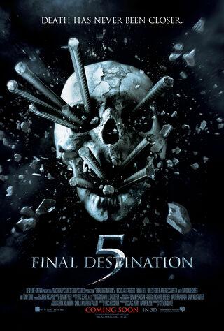 Final Destination 5 (2011) Main Poster