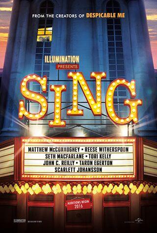 Sing (2016) Main Poster
