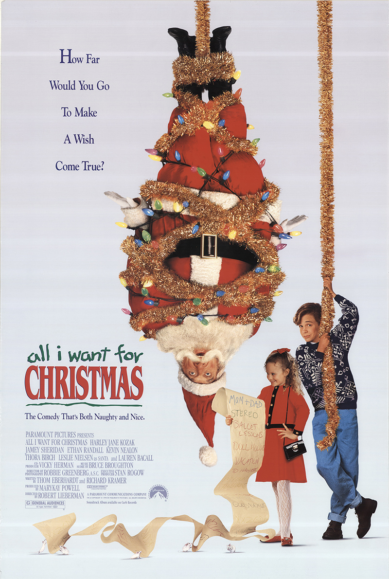 All I Want For Christmas (1991) Main Poster
