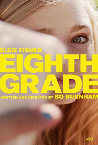 Eighth Grade (2018) Main Poster