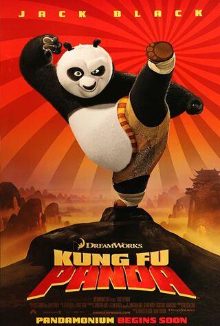 Kung Fu Panda (2008) Main Poster