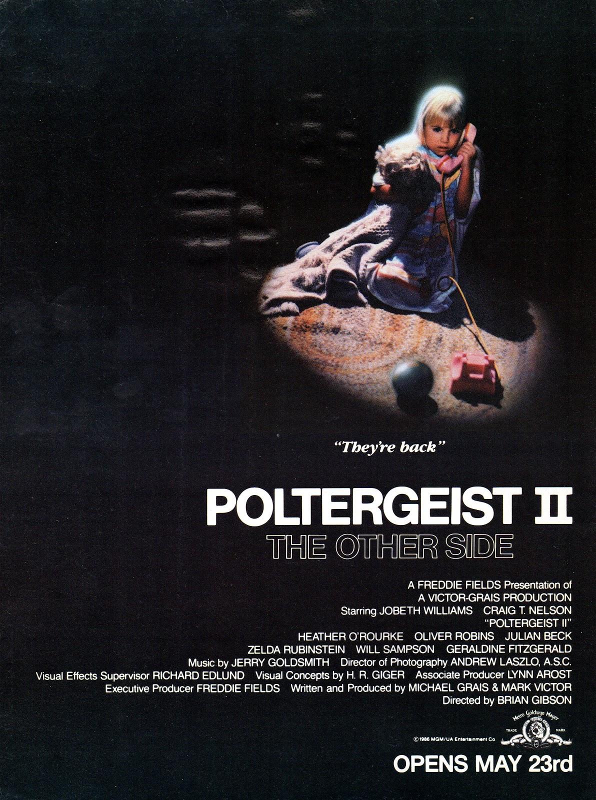 Poltergeist III (1988) Main Poster