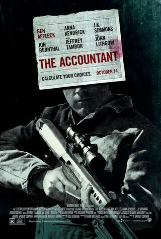 The Accountant (2016) Main Poster