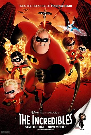 The Incredibles (2004) Main Poster