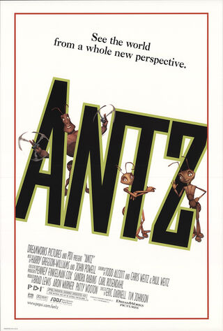 Antz (1998) Main Poster
