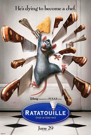 Ratatouille (2007) Main Poster