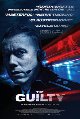 The Guilty (2018) Main Poster
