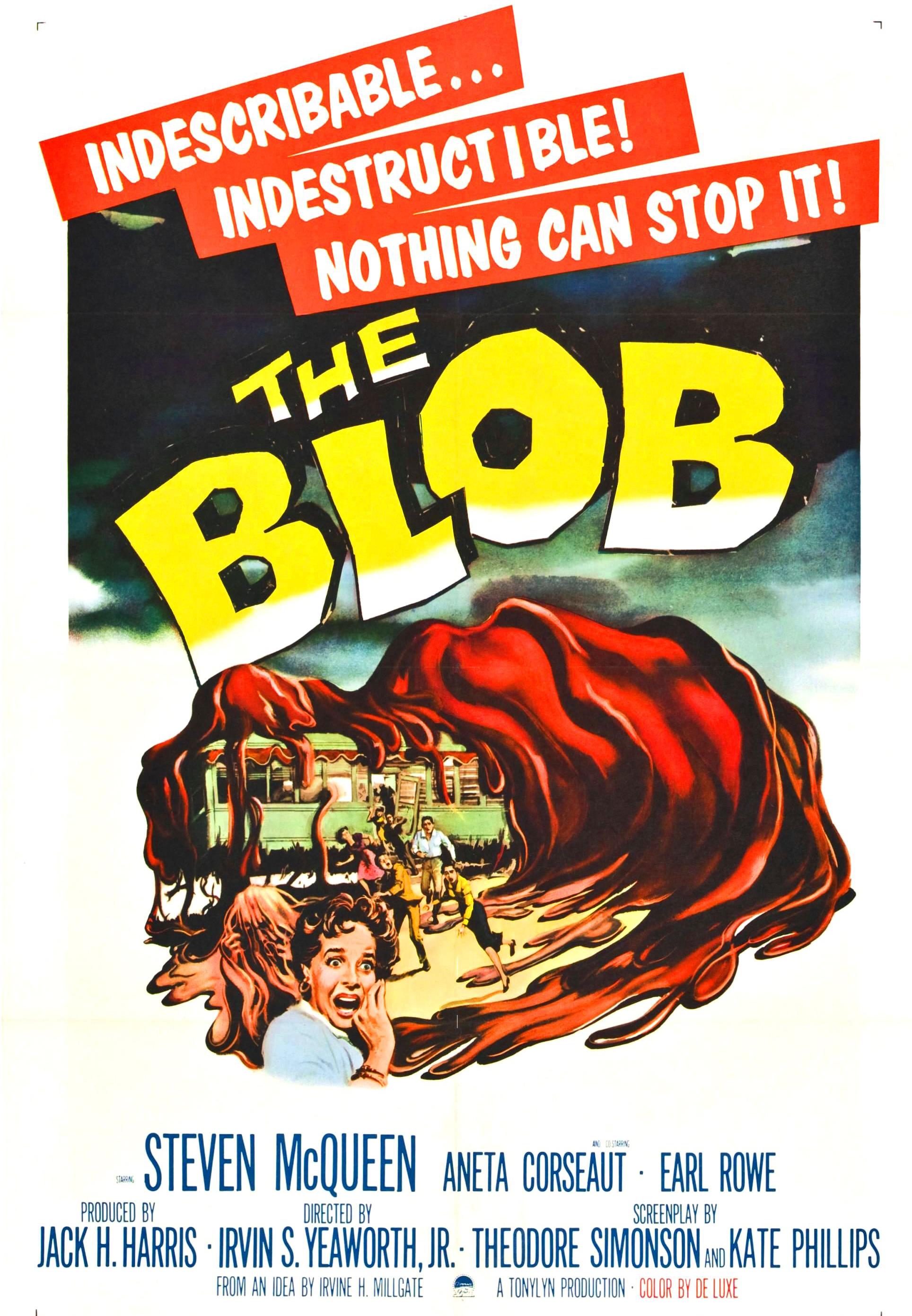 The Blob (1988) Main Poster