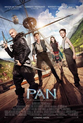 Pan (2015) Main Poster
