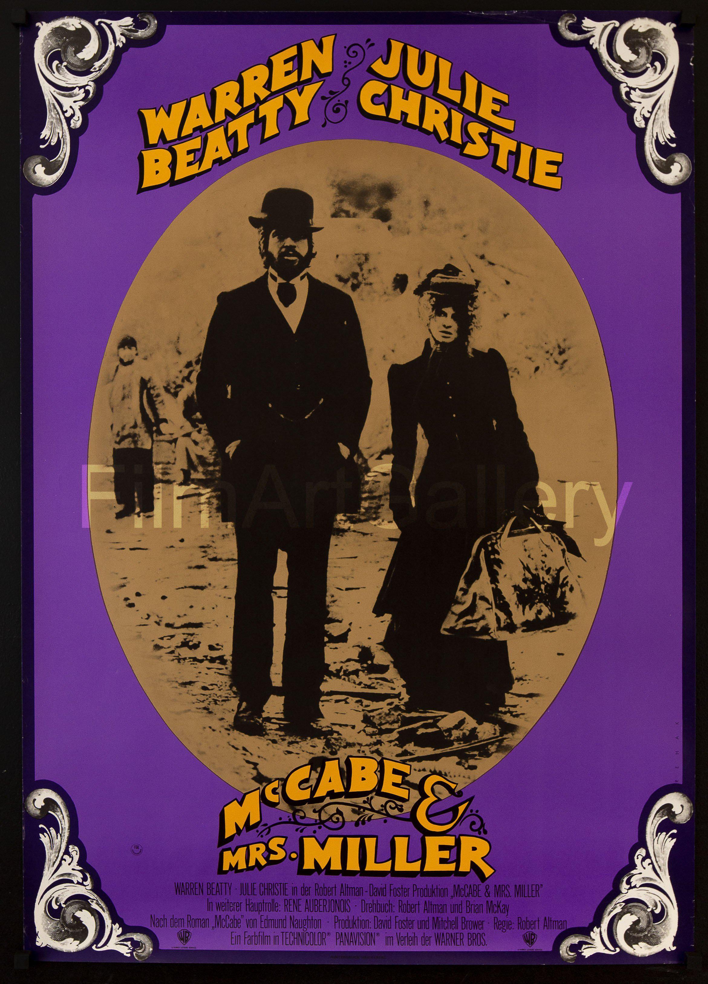 McCabe & Mrs. Miller (1971) Main Poster