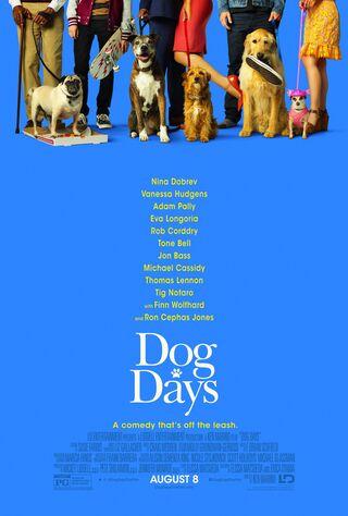 Dog Days (2018) Main Poster