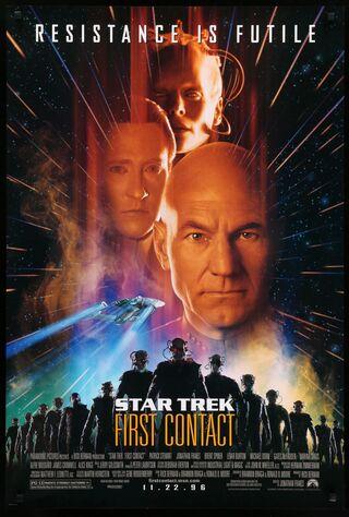 Star Trek: First Contact (1996) Main Poster
