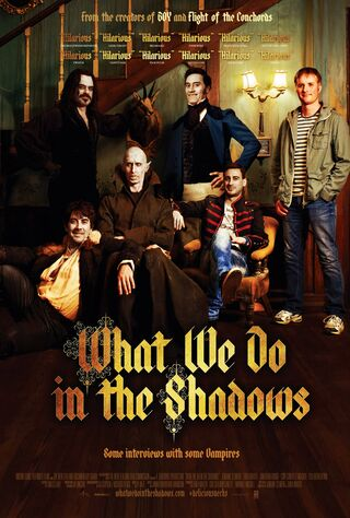 What We Do In The Shadows (2015) Main Poster