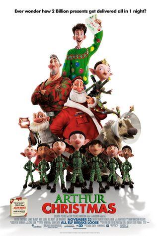 Arthur Christmas (2011) Main Poster