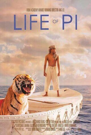 Life of Pi (2012) Main Poster