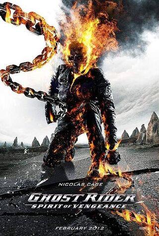 Ghost Rider: Spirit Of Vengeance (2012) Main Poster