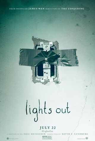 Lights Out (2016) Main Poster