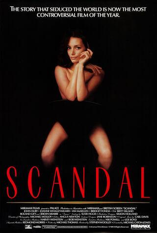 Scandal (1989) Main Poster
