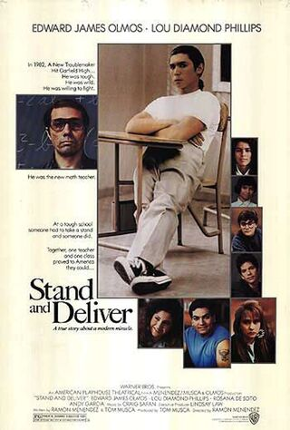 Stand And Deliver (1988) Main Poster
