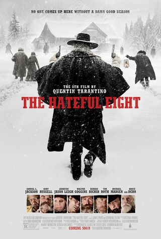The Hateful Eight (2015) Main Poster