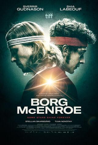 Borg Vs. McEnroe (2018) Main Poster