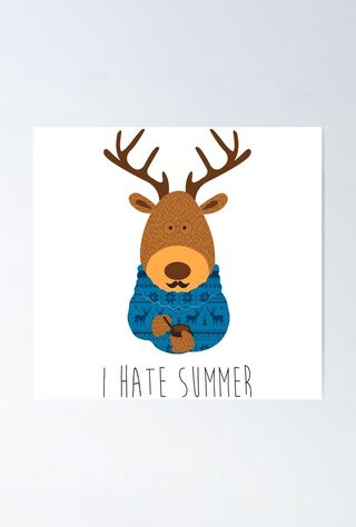I Hate Summer (2020) Main Poster