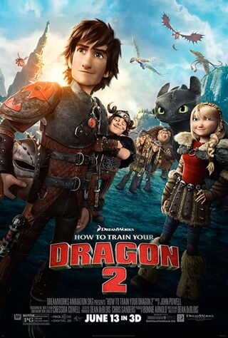 How to Train Your Dragon 2 (2014) Main Poster