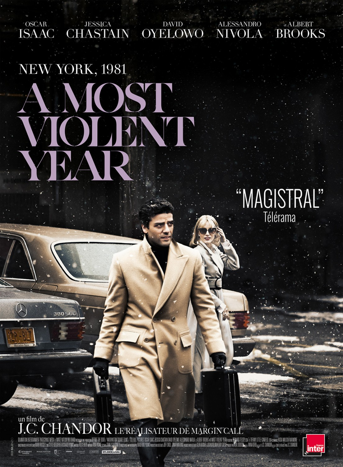 A Most Violent Year (2015) Main Poster