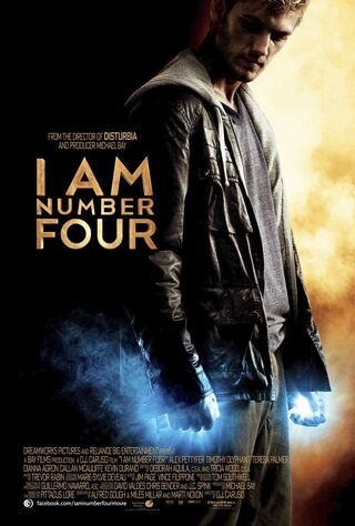 I Am Number Four (2011) Main Poster