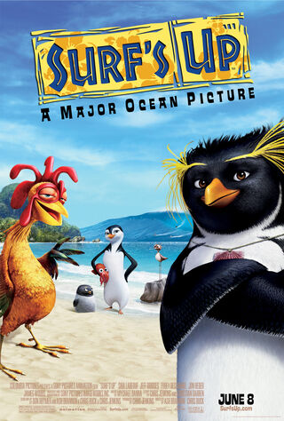 Surf's Up (2007) Main Poster
