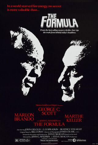 The Formula (1980) Main Poster