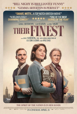 Their Finest (2017) Main Poster