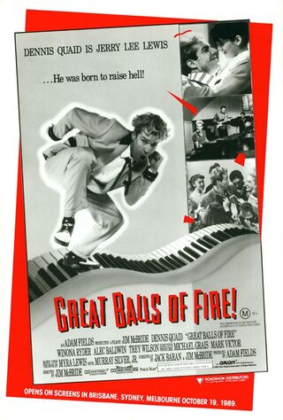 Great Balls Of Fire! (1989) Main Poster