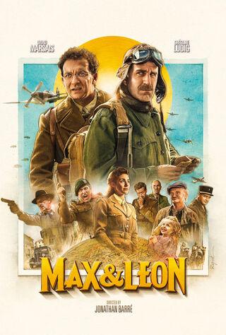 La Folle Histoire De Max Et Léon (2016) Main Poster