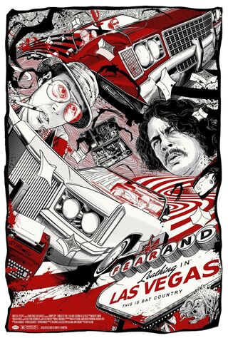 Fear And Loathing In Las Vegas (1998) Main Poster