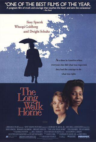The Long Walk Home (1991) Main Poster