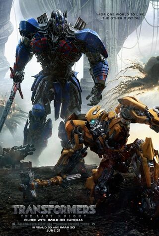 Transformers: The Last Knight (2017) Main Poster