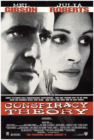 Conspiracy Theory (1997) Main Poster