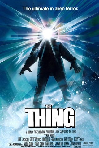 The Thing (1982) Main Poster