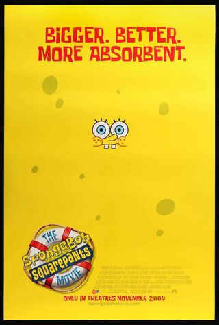 The SpongeBob SquarePants Movie (2004) Main Poster