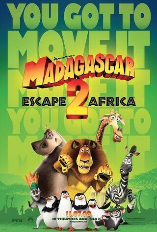 Madagascar: Escape 2 Africa (2008) Main Poster