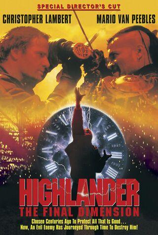 Highlander: The Final Dimension (1995) Main Poster