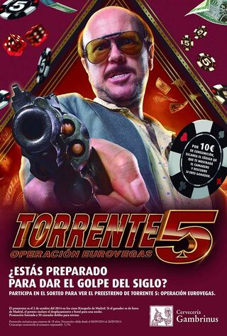 Torrente 5 (2014) Main Poster
