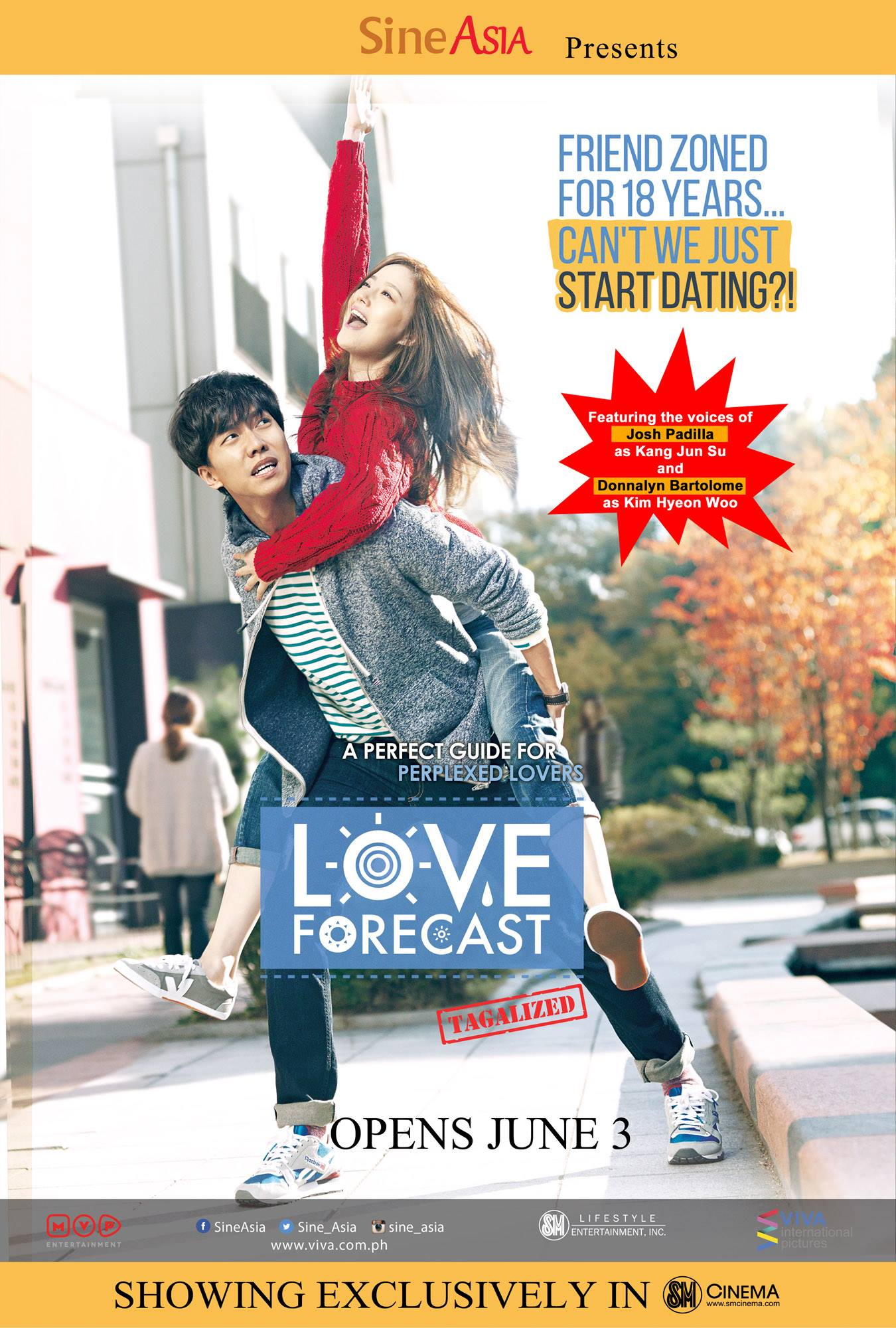 Love Forecast (2015) Main Poster