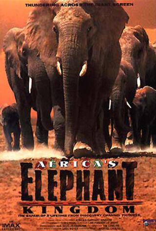 Africa's Elephant Kingdom (1998) Main Poster