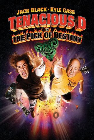 Tenacious D In The Pick Of Destiny (2006) Main Poster